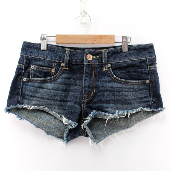 American Eagle Outfitters Pants - American Eagle Blue Jean Denim Cut Off Shorts